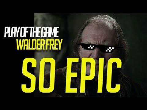 Overwatch: Walder Frey Play of the Game (meme/parody)