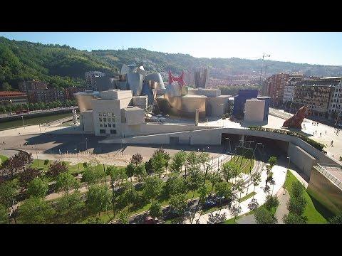 Guggenheim Museum, Bilbao, Spain   -  Skydronauts.uk