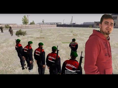 ARMA 3 JANDARMA ROLE CİNLİ KÖY!