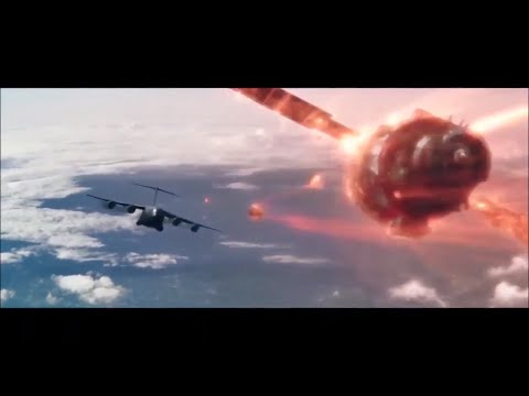 xXx Return of Xander Cage Hindi : Ending Plain , jump without parachute Scenes   (11)