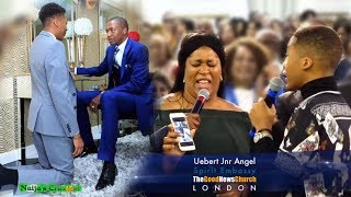 Prophet Uebert Angel 14 Year Old Son Becomes A Prophet At Spirit Embassy Church