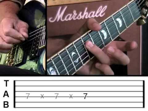 Guitar Lesson 11 - Funk     (www.vGuitarLessons.com)