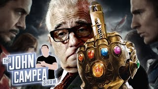 Scorsese Doubles Down His Anti-Marvel Attack - The John Campea Show