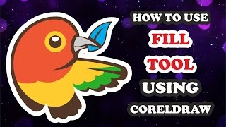 HOW TO USE SMART FILL TOOL  IN COREL DRAW TIPS & TRICKS