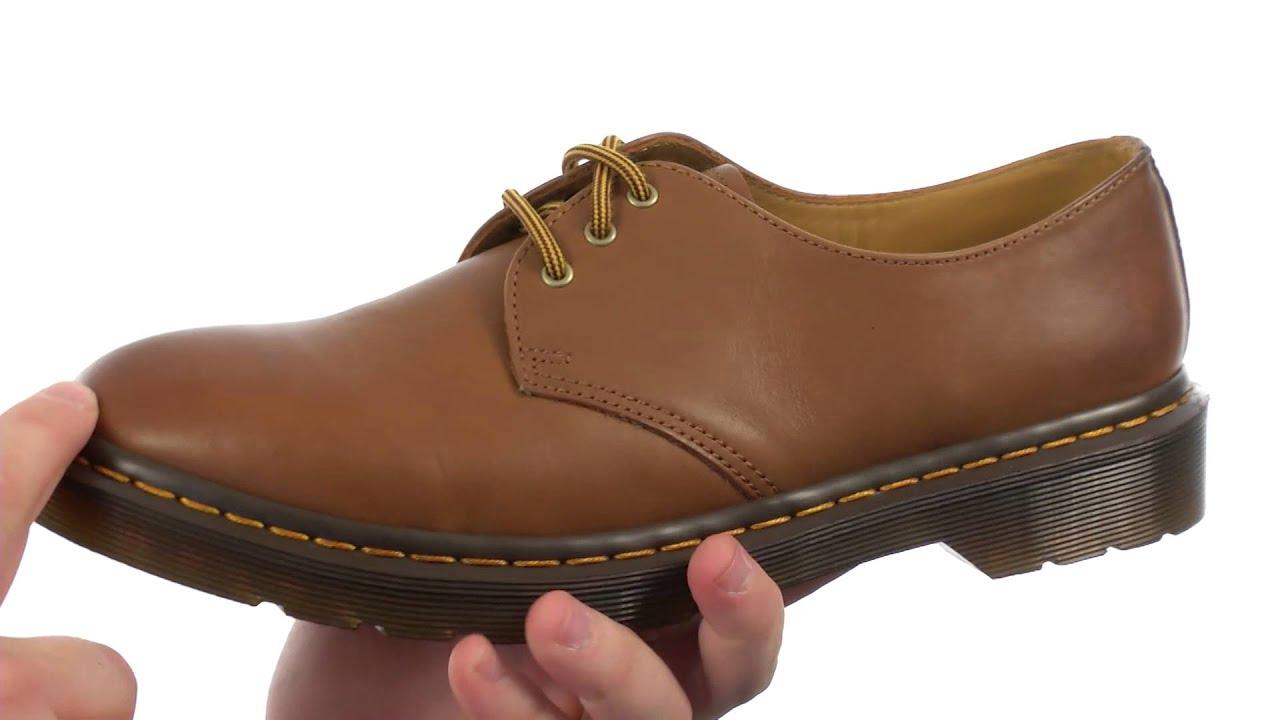 19d825e3ba Dr. Martens Dorian 3-Eye Shoe SKU:8258322 - YouTube