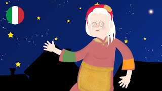Una divertente canzone ispirata ad delle più antiche filastrocche italiane cantata da lucilla e la brigata canterina con i disegni le animazioni di gaia fogli..., befana vien notte (a. ...