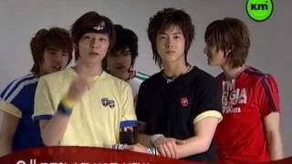 DBSK GIA CF photoshoot (walking down the aisle moment) 2004