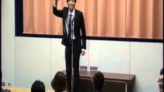 お笑いコンビ「日本の頭脳」 久保田星希 ピン漫談 ・出番前に出囃子の音...