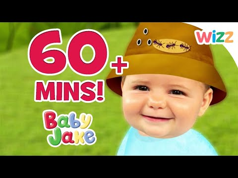 Baby Jake - Spinning Around | 60+ minutes | Play with Baby Jake