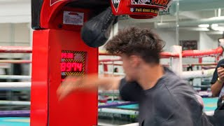Strongest Punch Wins $1,000 ft. Pro Boxer