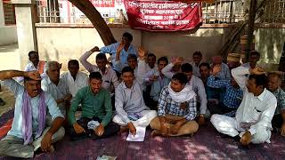 Churu GDS strike 2018 NUGDS churu head post office Rajasthan