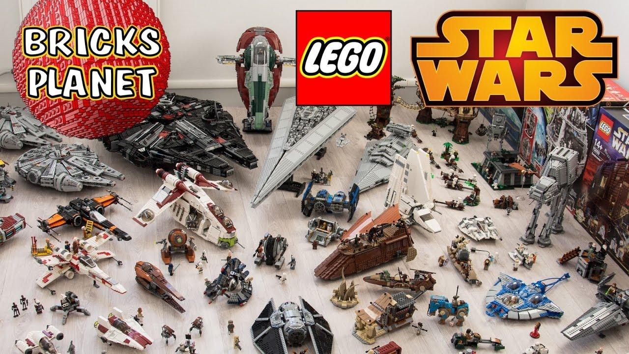 Big Lego Star Wars Collection 2017 By Bricks Planet