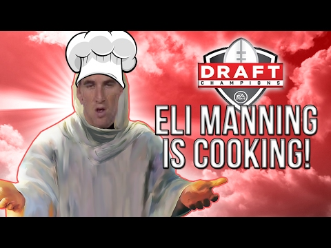Madden 17 Draft Champions! :: Eli Manning Is Cooking Up Dots! :: Madden 17 Ultimate Team
