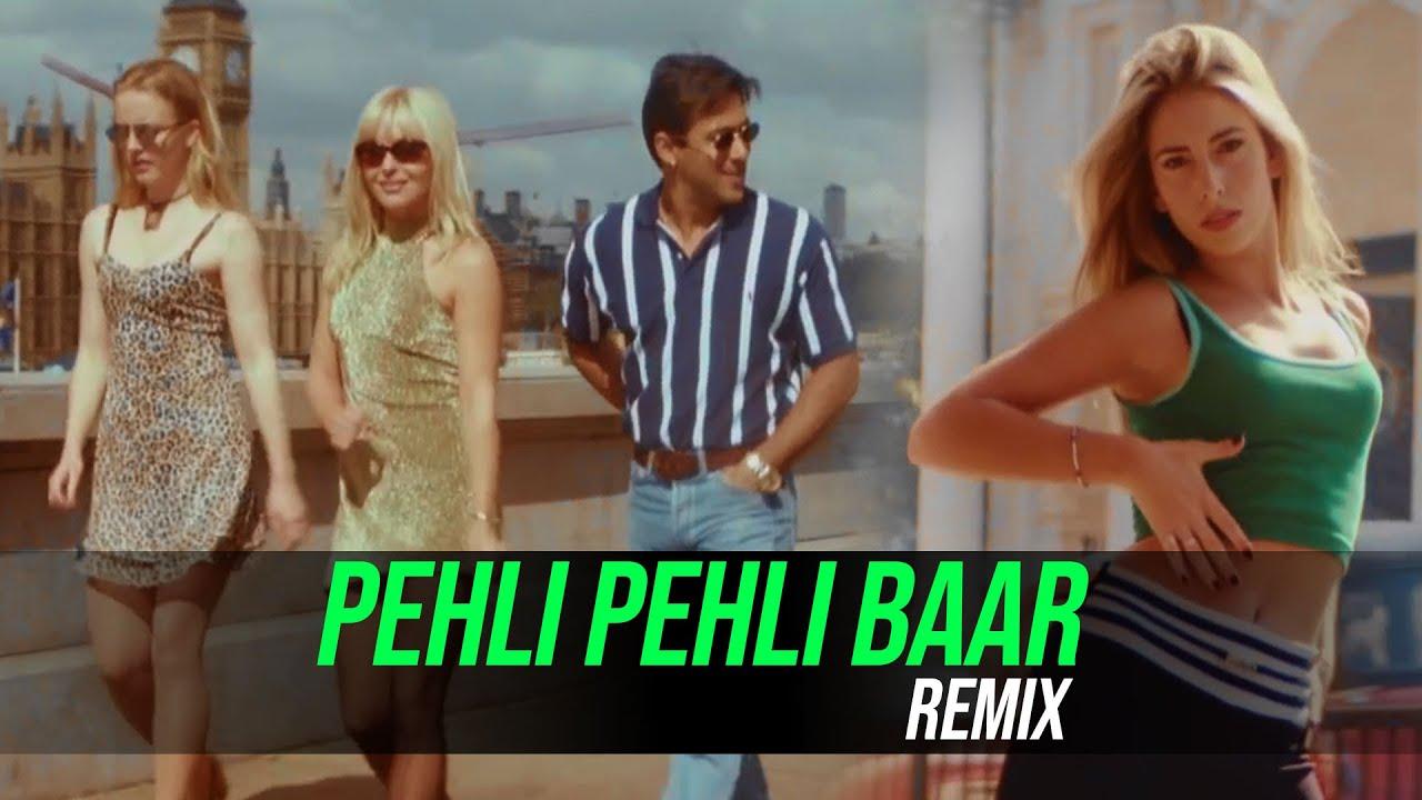 Pehli Pehli Baar (Remix) - DJ Harsh Mahant   Jab Pyaar Kisise Hota Hai   Salman Khan   Kumar Sanu