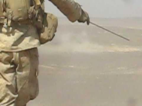 Marine Corps Machine Guns training in Jordan during 15th MEU