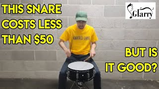 The Best Beginner/Cheap Snare On The Market? - Glarry Snare Drum Review!