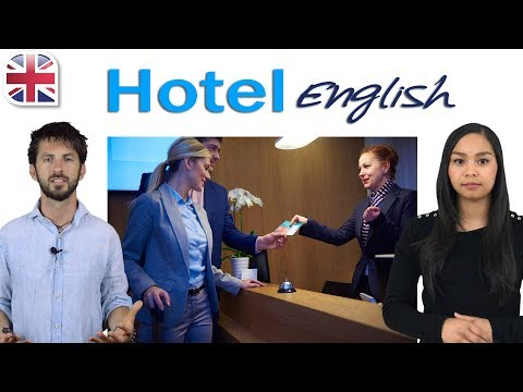 Hotel English - Using Travel English at Hotels