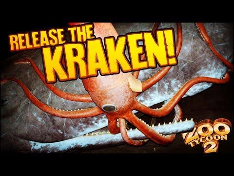 Zoo Tycoon 2: The Aquarium | GIANT SQUID TANK! (Aquarium Part 8)