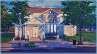 The Sims 4 House Build | Luxury Family Home | Stonehill Place