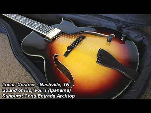 Lucas Costner on Entrada Archtop