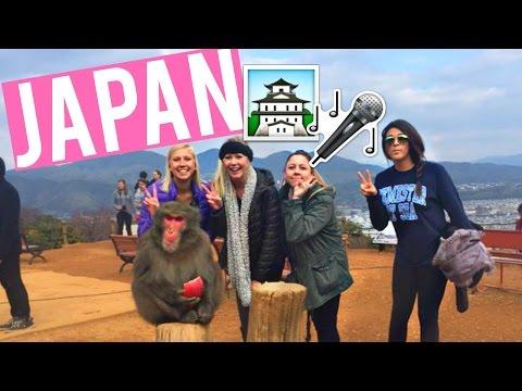 WILD MONKEYS & KARAOKE BARS IN JAPAN | Kristee's Life on Deck