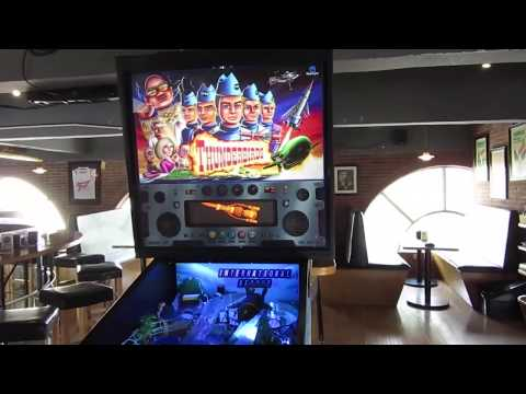 Thunderbirds Pinball Machine (Homepin)
