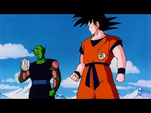 All Right! This is The Strongest Combo in the World: Goku and Piccolo (Japanese)