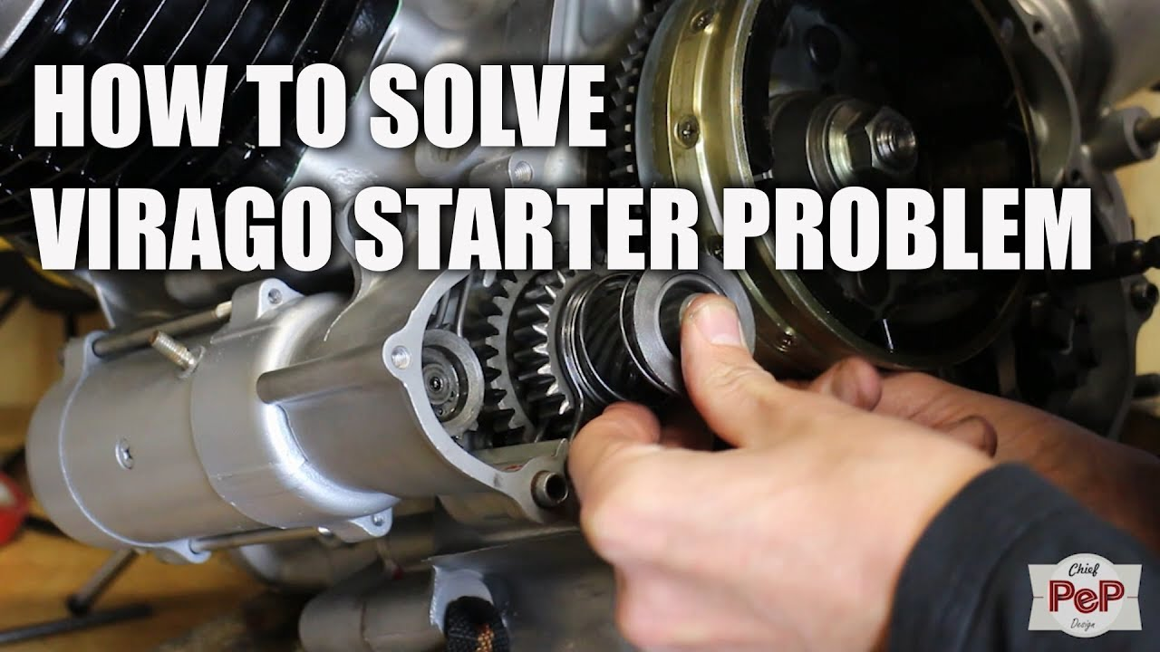 Installing Virago starter mechanism  YouTube