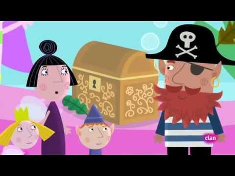 El pequeño reino de Ben y Holly 1x22 El tesoro del pirata