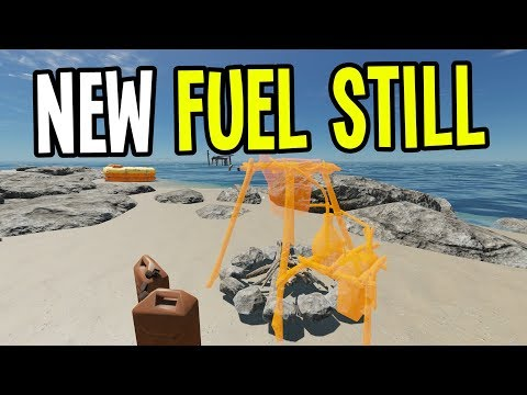 NEW UPDATE! Making Fuel with the FUEL STILL!! - Stranded Deep Gameplay - Episode 10