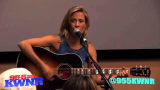 Sheryl Crow - 95.5 KWNR Solo Acoustic Performance (23 April 2013)