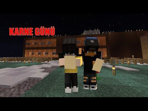 Karne Günü!! (Minecraft Okul Zamanı) 720p60FPS