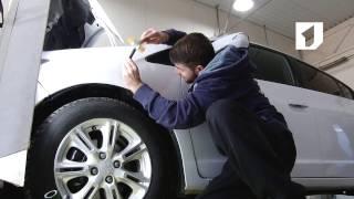 Утренний эфир / Удаление вмятин на автомобиле без покраски и рихтовки