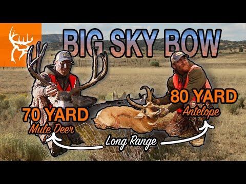 BIG SKY BOW HUNTERS | Wyoming Mule Deer And Antelope | Full Episode