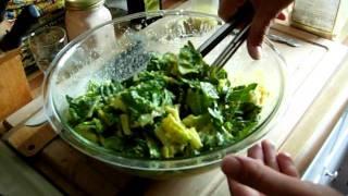 Caesar Salad (part 2 Of 2) ~ Raw Vegan Style ~ Vid#58