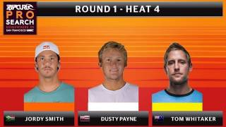 Round 1 - Heat 4: Smith vs. Payne vs. Whitaker