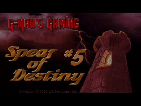 G-Man's Gaming - Wolfenstein 3D: Spear of Destiny Part 5 - Health Hunting |