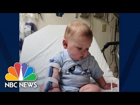 Mother Of Baby With Coronavirus Says She Is 'Very Emotional Seeing Him So Sick' | NBC News NOW