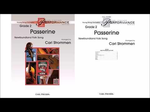 Passerine: Newfoundland Folk Song (YAS168) arr. by Carl Strommen