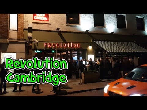 Revolution Cambridge | Nightlife in Cambridge | Daily vlog 008