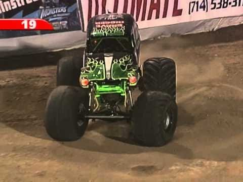 Dennis Anderson - Grave Digger Freestyle | Monster Jam World Finals 9 IX (2008)