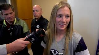 BYU Women's Soccer - NCAA Selection - Elise Flake