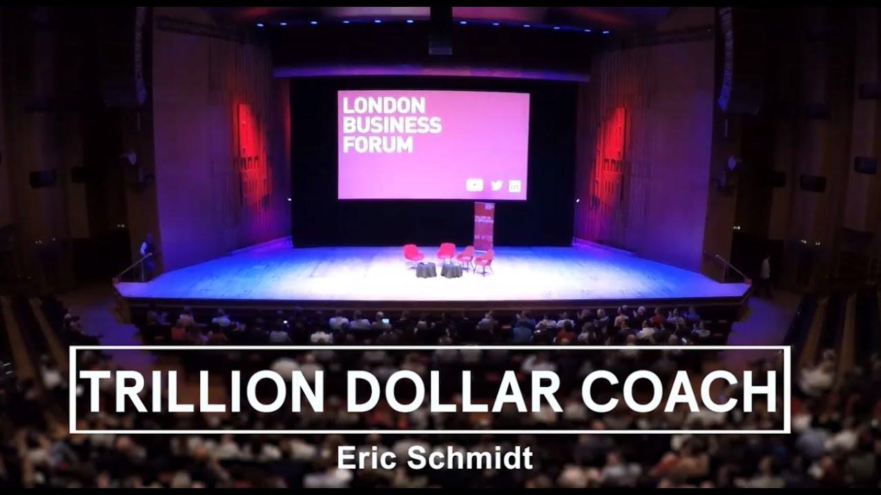 Trillion Dollar Coach - Eric Schmidt