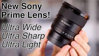 Ultra Wide, Ultra Sharp, Ultra Light?! Sony 20mm f/1.8 G Review