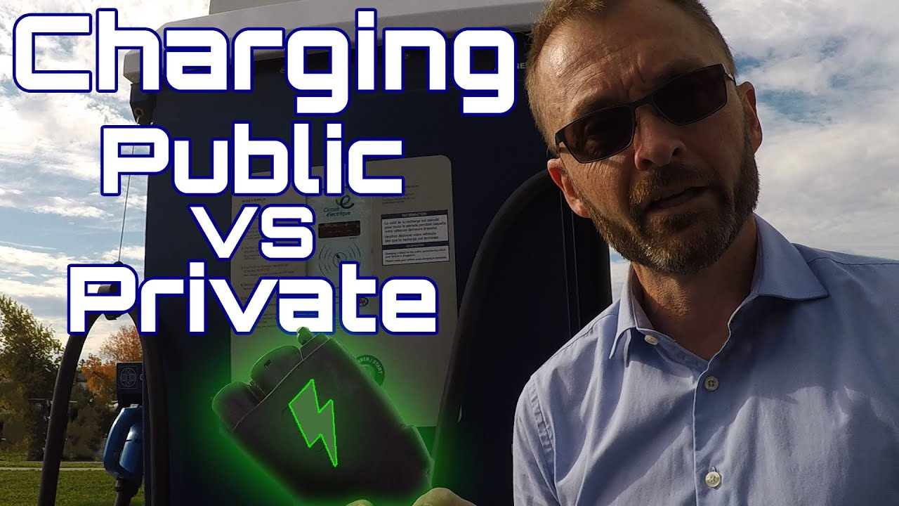 Public vs Private, how to charge your EV