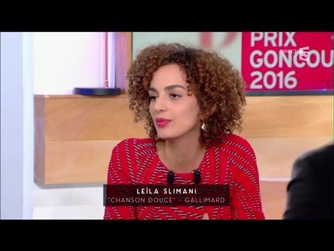 Leila Slimani, le Goncourt ! - C à vous - 03/11/2016