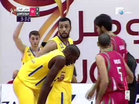 Arab Clubs Basketball Championship 28 - Dubai - AL-Riyadi Club (Lebanon) vs Sporting Club (Egypt)