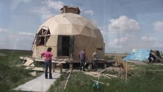 як зробити купольний будинок своїми руками