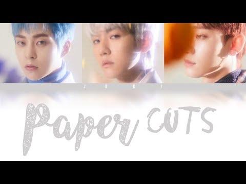 Paper Cuts - EXO-CBX [JPN/ROM/ENG COLOR CODED LYRICS]