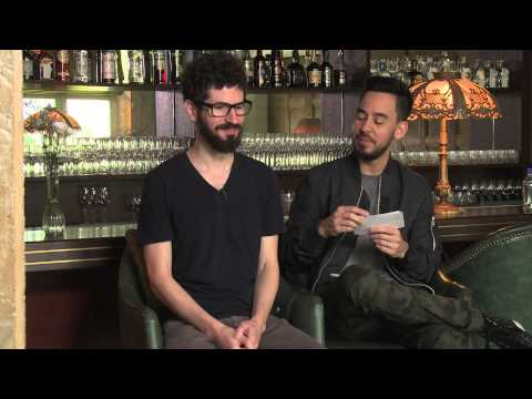 Mike Shinoda interviews Brad Delson for Google Play